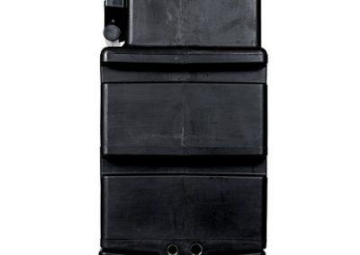 HYDROBOX 500 - vooraanzicht met trechter overloop-500x500
