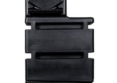 HYDROBOX 500 - zijaanzicht met trechter & overloop-500x500